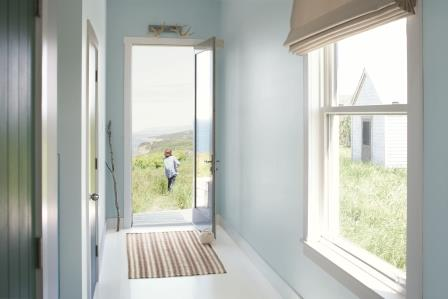 Pale Blue Entry with