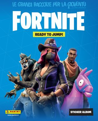 Panini Fortnite cover ITA