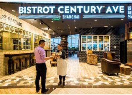 Bistrot approda  in Cina a Shanghai